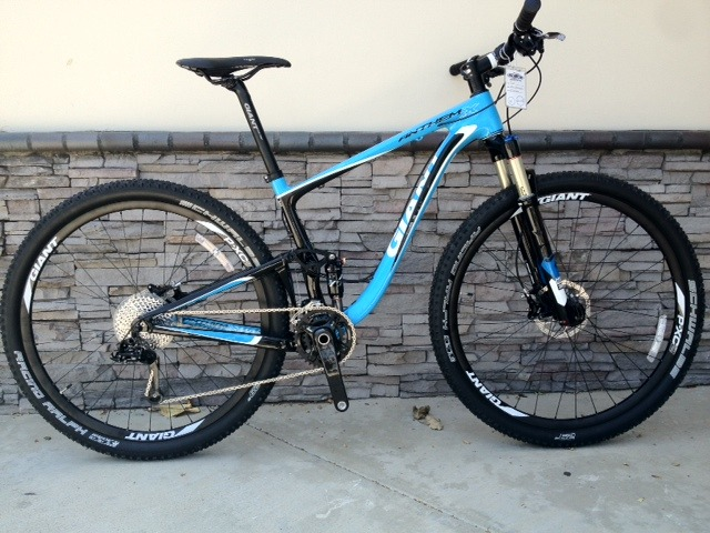 2013 giant anthem x carbon 29er
